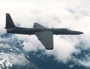 U-2Ultra-high altitude reconnaissance aircraft, nicknamed the Dragon Lady. (Courtesy of the US Air Force)