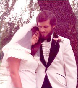 Cropped wedding pic
